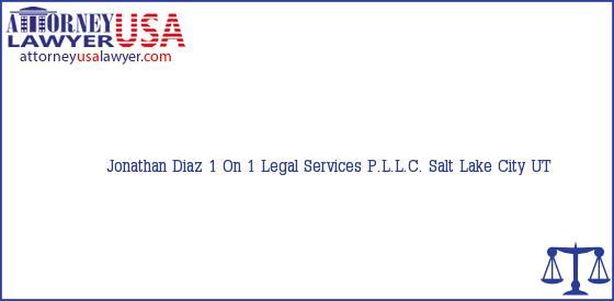 Telephone, Address and other contact data of Jonathan Diaz, Salt Lake City, UT, USA