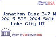 Jonathan Diaz 307 W 200 S STE 2004 Salt Lake City UT