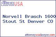 Norvell Brasch 1600 Stout St Denver CO