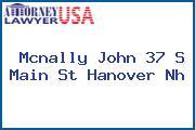 Mcnally John 37 S Main St Hanover Nh