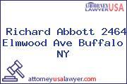 Richard Abbott 2464 Elmwood Ave Buffalo NY