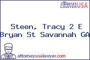 Steen, Tracy 2 E Bryan St Savannah GA