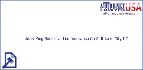 Telephone, Address and other contact data of Jerry King, Salt Lake City, UT, USA