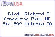 Bird, Richard 6 Concourse Pkwy NE Ste 900 Atlanta GA