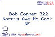 Bob Conner 322 Norris Ave Mc Cook NE