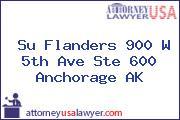Su Flanders 900 W 5th Ave Ste 600 Anchorage AK