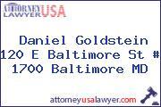 Daniel Goldstein 120 E Baltimore St # 1700 Baltimore MD