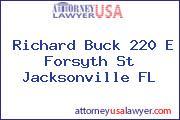 Richard Buck 220 E Forsyth St Jacksonville FL
