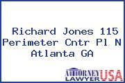 Richard Jones 115 Perimeter Cntr Pl N Atlanta GA