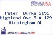 Peter  Burke 2151 Highland Ave S # 120 Birmingham AL