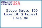 Steve Butts 155 Lake St S Forest Lake Mn
