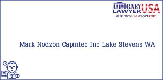 Telephone, Address and other contact data of Mark Nodzon, Lake Stevens, WA, USA
