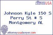 Johnson Kyle 150 S Perry St # S Montgomery AL
