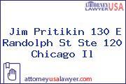 Jim Pritikin 130 E Randolph St Ste 120 Chicago Il