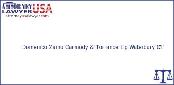 Telephone, Address and other contact data of Domenico Zaino, Waterbury, CT, USA
