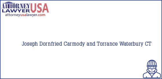 Telephone, Address and other contact data of Joseph Dornfried, Waterbury, CT, USA