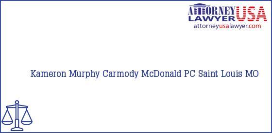 Telephone, Address and other contact data of Kameron Murphy, Saint Louis, MO, USA