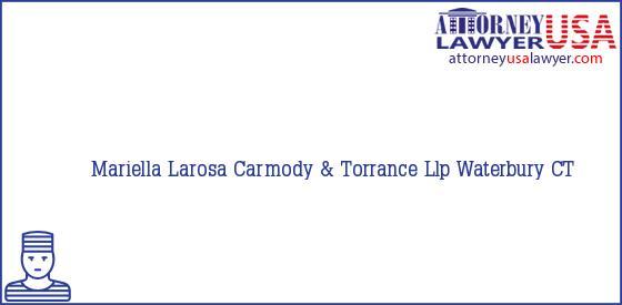 Telephone, Address and other contact data of Mariella Larosa, Waterbury, CT, USA