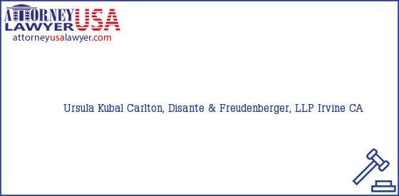 Telephone, Address and other contact data of Ursula Kubal, Irvine, CA, USA