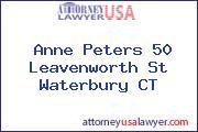 Anne Peters 50 Leavenworth St Waterbury CT