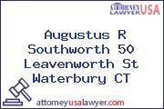 Augustus R Southworth 50 Leavenworth St Waterbury CT