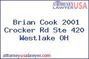 Brian Cook 2001 Crocker Rd Ste 420 Westlake OH