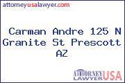 Carman Andre 125 N Granite St Prescott AZ