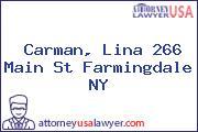 Carman, Lina 266 Main St Farmingdale NY