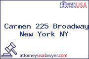 Carmen 225 Broadway New York NY