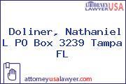 Doliner, Nathaniel L PO Box 3239 Tampa FL