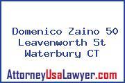 Domenico Zaino 50 Leavenworth St Waterbury CT