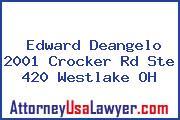 Edward Deangelo 2001 Crocker Rd Ste 420 Westlake OH