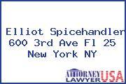 Elliot Spicehandler 600 3rd Ave Fl 25 New York NY