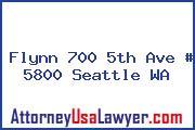 Flynn 700 5th Ave # 5800 Seattle WA