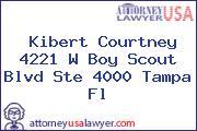 Kibert Courtney 4221 W Boy Scout Blvd Ste 4000 Tampa Fl