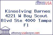 Kinsolving Barnes 4221 W Boy Scout Blvd Ste 4000 Tampa Fl