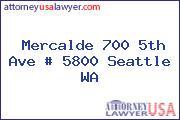 Mercalde 700 5th Ave # 5800 Seattle WA