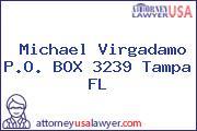 Michael Virgadamo P.O. BOX 3239 Tampa FL
