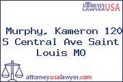 Murphy, Kameron 120 S Central Ave Saint Louis MO