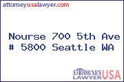 Nourse 700 5th Ave # 5800 Seattle WA