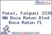 Patel, Falguni 3335 NW Boca Raton Blvd Boca Raton FL
