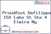 Proudfoot Defilippo 150 Lake St Ste 4 Elmira Ny