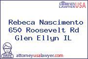 Rebeca Nascimento 650 Roosevelt Rd Glen Ellyn IL