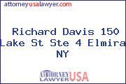 Richard Davis 150 Lake St Ste 4 Elmira NY