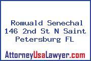 Romuald Senechal 146 2nd St N Saint Petersburg FL
