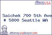 Saichek 700 5th Ave # 5800 Seattle WA