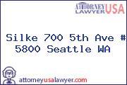 Silke 700 5th Ave # 5800 Seattle WA