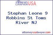 Stephan Leone 9 Robbins St Toms River NJ