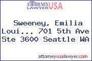Sweeney, Emilia Loui... 701 5th Ave Ste 3600 Seattle WA