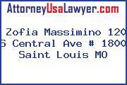 Zofia Massimino 120 S Central Ave # 1800 Saint Louis MO